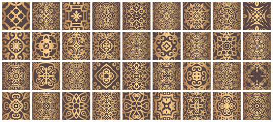Tiles Bundle Golden Brown