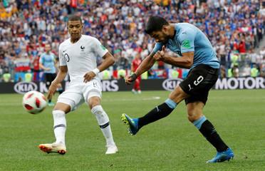 World Cup - Quarter Final - Uruguay vs France