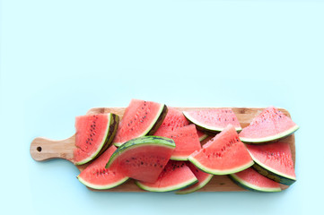 Fresh watermelon background