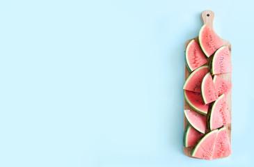 Fresh watermelon background