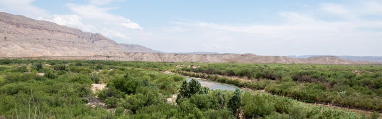 Rio Grande Overlook, Big Bend National Park, Texas