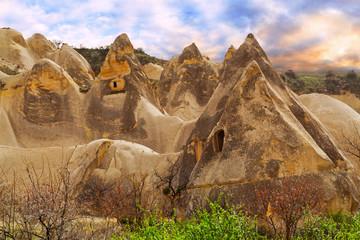 Rose valley near Goreme, Turkey