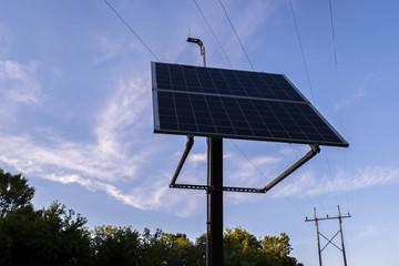 Solar Panel Energy Alternative Power Station