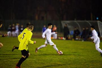 Calcio, doppio passo e controllo di palla