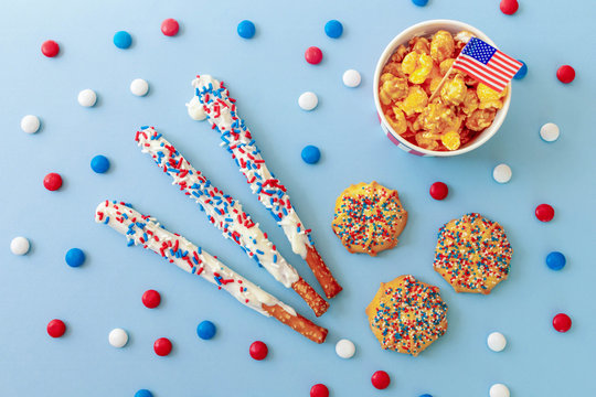 Patriotic snacks for the Fourth of July