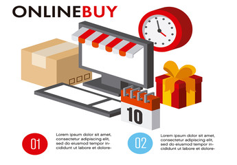 E-commerce Infographic Layout
