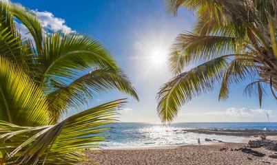 plage de Boucan Canot, île de la Réunion  Fototapete