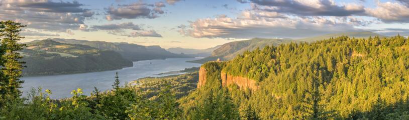 Vista House and the Gorge Oregon panorama.