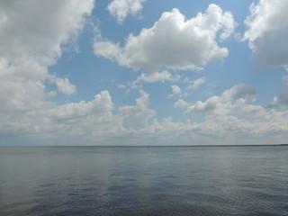 летнее небо, облака