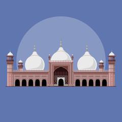 Badshahi Mosque Historical Landmark of Lahore - Pakistan