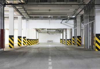 tunnel in underground parking