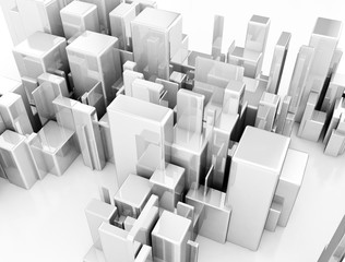City, conceptual illustration