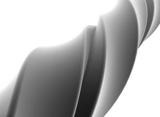 Twisted shape, illustration