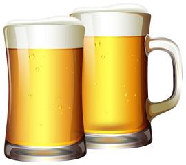 A Set of Beers in Mug