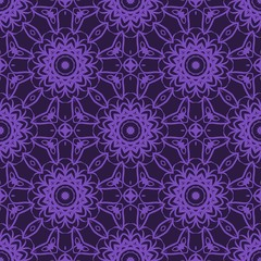 Unique, abstract geometric pattern. Seamless vector illustration. For design, wallpaper, background