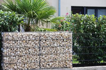 Gabione (Gabion fence wall)