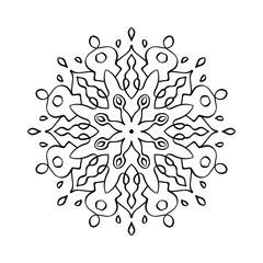 mandala pattern illustration vector mandala coloring book