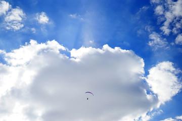 Foto op Aluminium Luchtsport paragliding