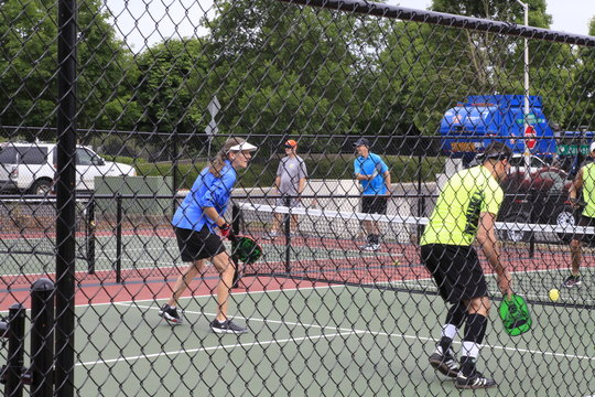 Dallas, Oregon July 4, 2018 Pickle Ball Competition 4th of July Celebration