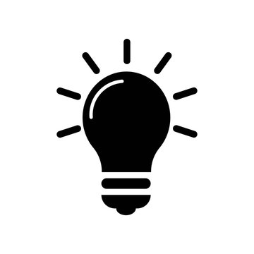 Light Bulb icon vector icon. Simple element illustration. Light Bulb symbol design. Can be used for web and mobile.