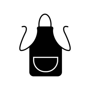 Apron icon vector icon. Simple element illustration. Apron symbol design. Can be used for web and mobile.