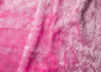 Aluminium Prints Macro photography Pink wool texture background,cotton wool
