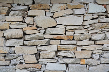 Stone wall. texture. Stone wall background