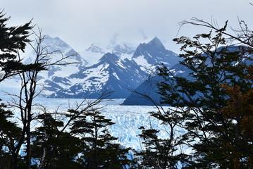 Paisaje en el Glaciar Perito Moreno