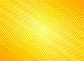 retro comic yellow background raster gradient halftone, stock vector illustration eps 10