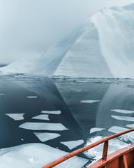 Iceberg slalom.