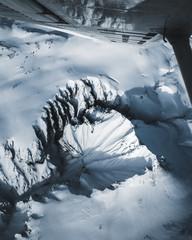 Deep winter canyon.