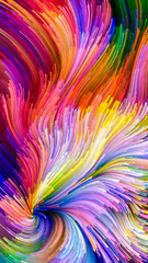 Colorful Paint Processing