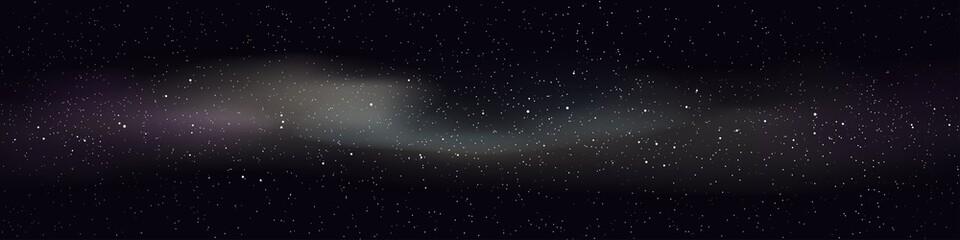 Fototapeta deep space with clouds obraz