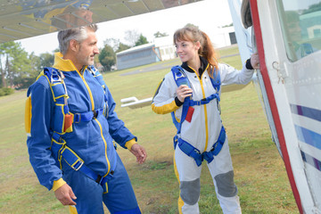skydiving center