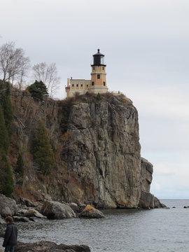 Split Rock Light House Along the Shores of Lake Superior