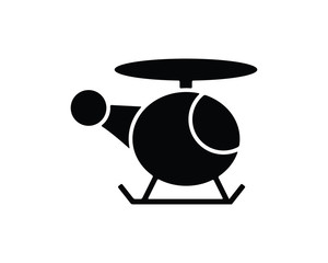 helicopter navigation icon , designed for web and app
