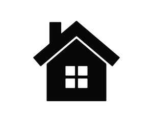 house glyph icon , designed for web and app