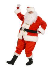 Traditional Santa Claus dancing