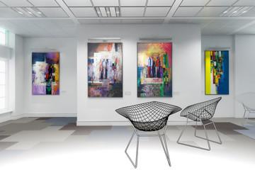 Gemäldeausstellung (Skizze)