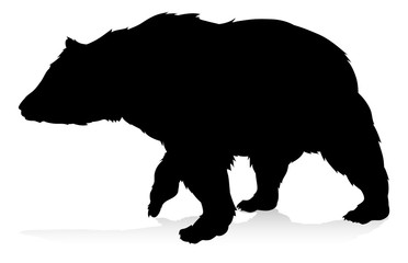 Bear Animal Silhouette