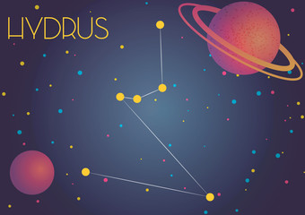 The constellation Hydrus