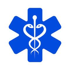 Ambulances icon – stock vector