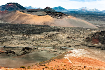 Lanzarote Volcanic Landscape - Canary Island