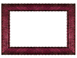 Purple  frame. Illustration purple frame with space for your text or photo.