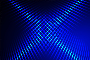 Blue intersection light lines background.Abstract Blue Background Vector.Blue texture.Vector background.