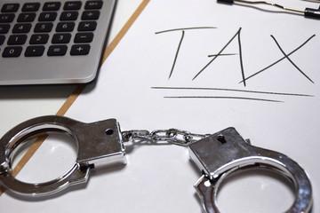 A criminal act of tax evasion