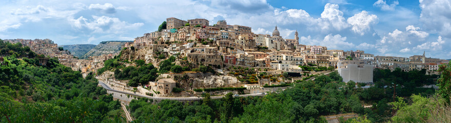 Ragusa Ibla medieval town in Sicily. Italy