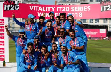England v India - Third International T20