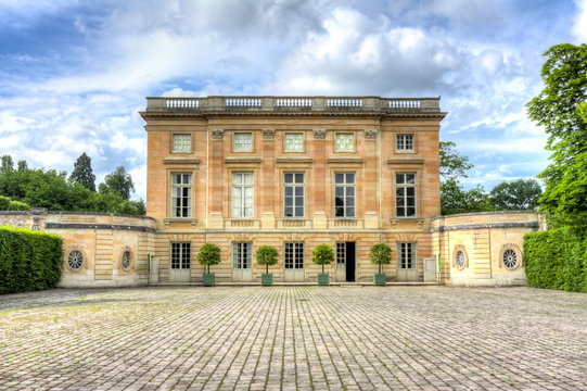 Petit Trianon in Versailles, Paris, France