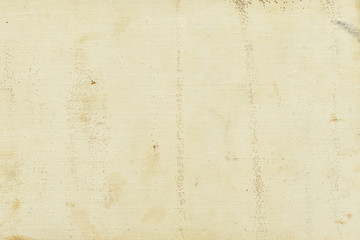 Abstract aged grunge texture background with dirt stains, spots, inclusions cellulose, beige color, grunge vintage backdrop